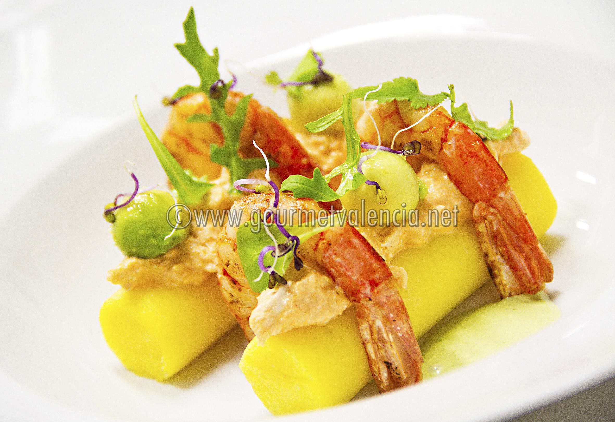 Comida latinoamericana con un toque gourmet gourmetvalencia for Platos gourmet