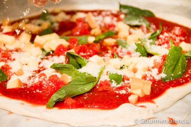 Pizza napolitana de Da Carlo