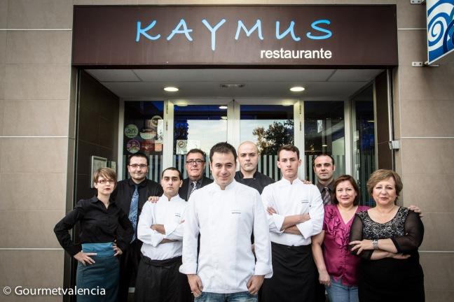 Nacho Romero y su equipo
