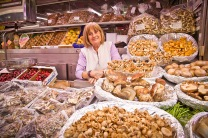 Boletus y otras setas Mercado Central