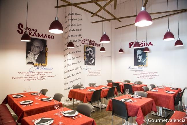 Restaurante Portuscale en Valencia