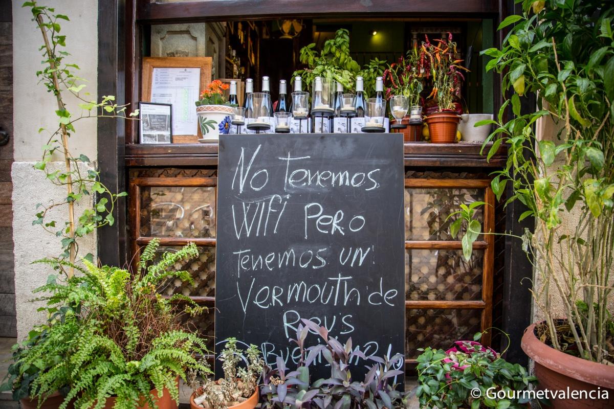Un vermouth de Reus buenísimo
