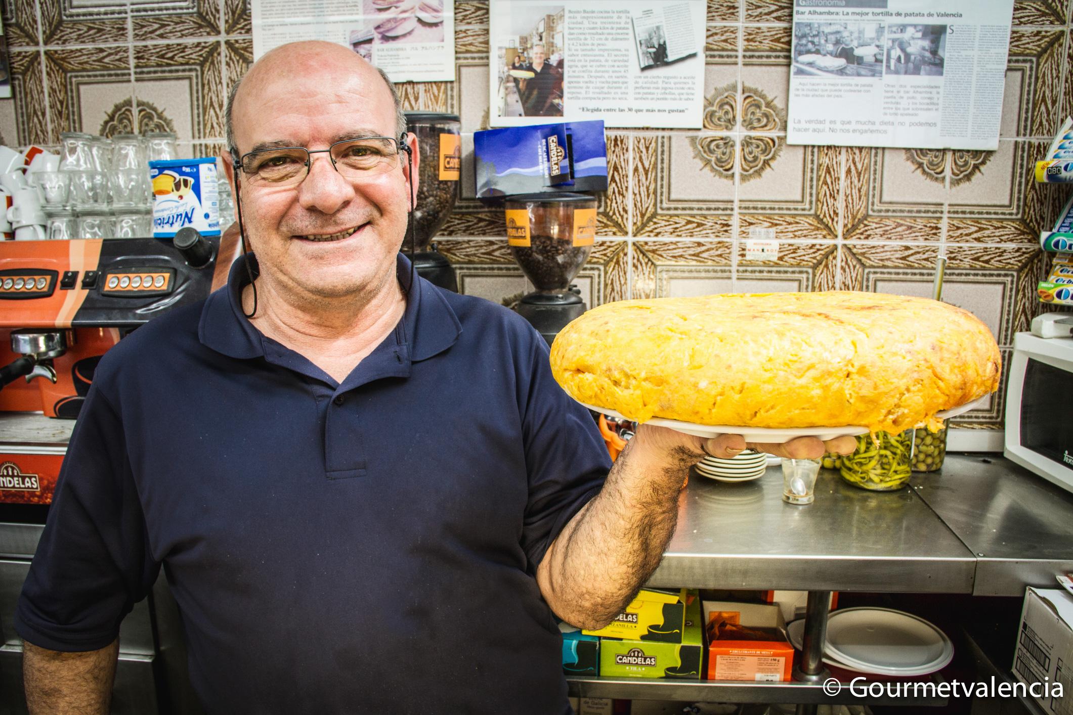 La mejor tortilla de Valencia