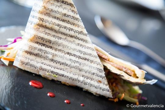 Sandwich del restaurante Delirant