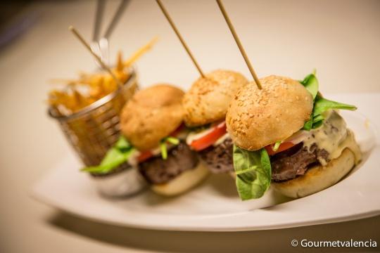 Mini hamburguesas de Rodamón