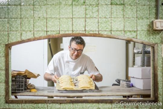 El panadero Jesús Machí