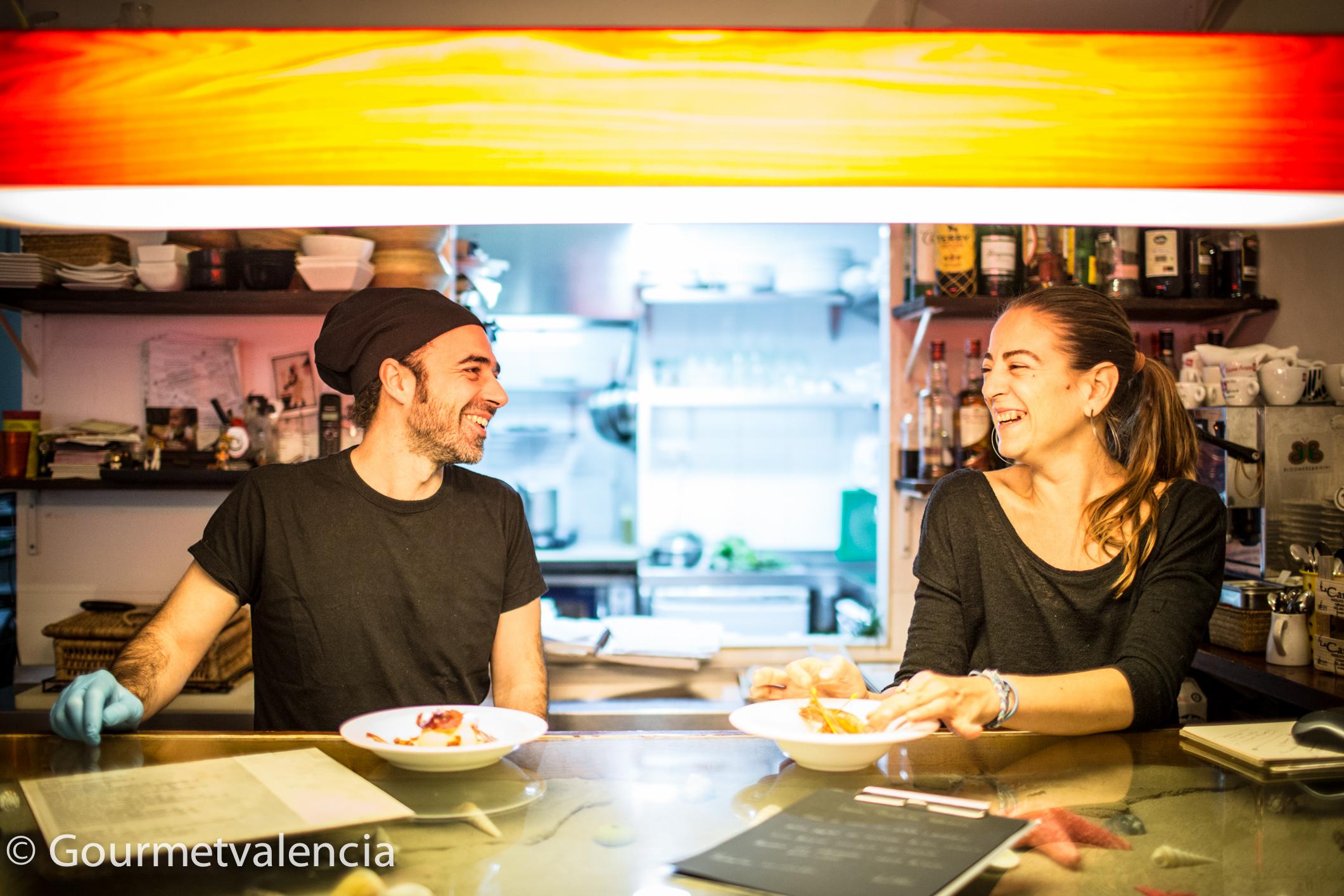 Restaurante Delicat en Valencia
