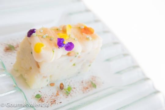 Trinxat de patata y bacalao de Ciro
