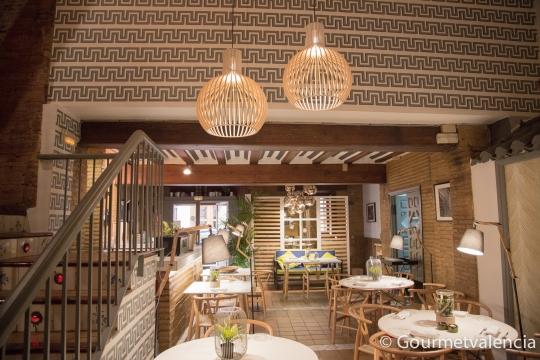 Interiorismo del restaurante Macel·lum