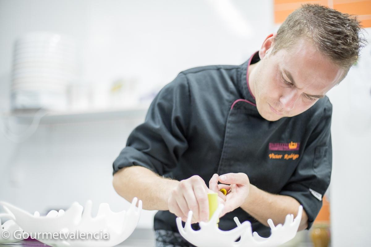 Víctor Rodrigo, el chef que no podía dejar de crear