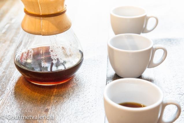 Café con Chemex de Bluebell Coffee