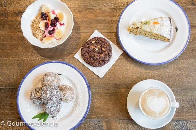 Desayuno de Bluebell Coffee