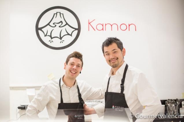 Hiro y Alberto, de Kamon