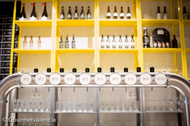 Tiradores de cerveza de Olhöps
