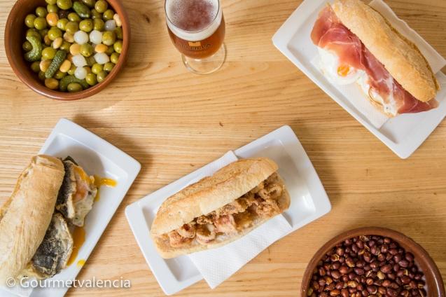 Almuerzos en Valencia