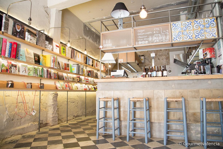 Muez, librería en Valencia