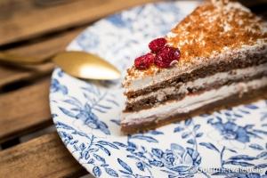 Porción de carrot cake de Sweet Victoria