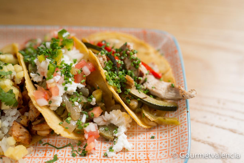 Tacos de taquería La Llorona, Ruzafa