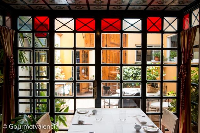 Mesa del restaurante Tavella